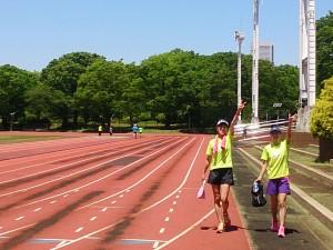 2015/05/13の颯走塾ランニング練習会