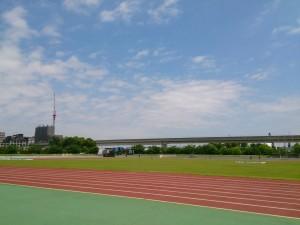 2015/05/20の舎人公園陸上競技場