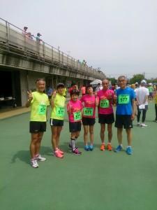 舎人公園3時間リレーマラソン