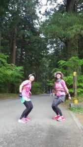吉田口登山道の入り口