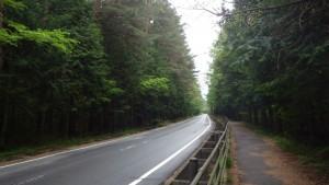 浅間神社から中ノ茶屋まではダラダラ坂道
