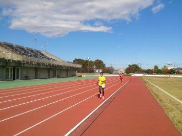 2016/11/09の舎人公園マラソン練習会1