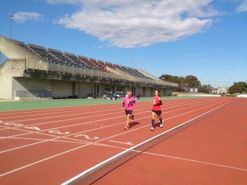 2016/11/09の舎人公園マラソン練習会2