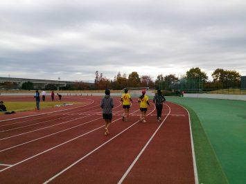 2016/11/23の舎人公園マラソン練習会②