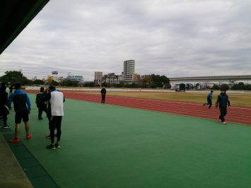 2016/12/7の舎人公園陸上競技場