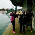 2016/12/14の舎人公園マラソン練習会①