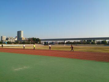 2016/12/21の舎人公園陸上競技場