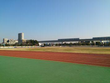 2017/01/04の舎人公園陸上競技場