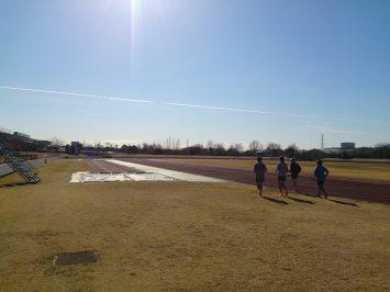 2017/01/11の舎人公園マラソン練習会②