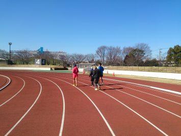 2017/01/25の舎人公園マラソン練習会