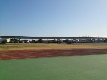 2017/02/08の舎人公園陸上競技場