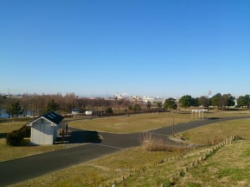 2017/02/15 舎人公園より富士山を望む