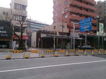 東京マラソン2017新コース門前仲町折り返し①