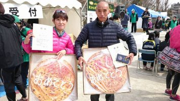 第6回草加松原太鼓橋ロードレースでは颯走塾の二人が年代別ダブル優勝!