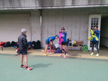 2017/03/29の足立区舎人公園マラソン練習会