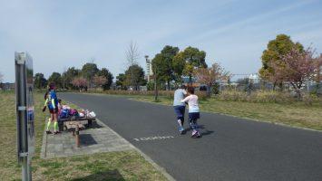 2017春のリレーマラソンin舎人公園5