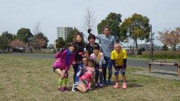 2017春のリレーマラソンin舎人公園1