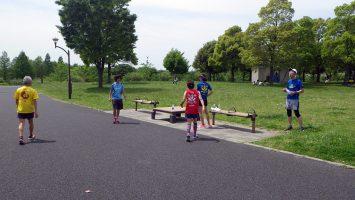 2017/05/03の舎人公園マラソン練習会1
