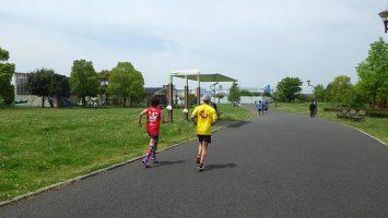 2017/05/03の舎人公園マラソン練習会3
