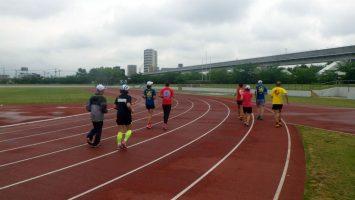 2017/05/10の舎人公園マラソン練習会3