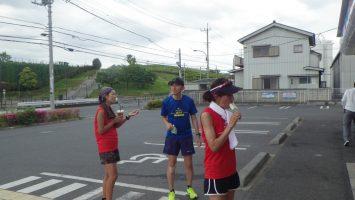 2017/05/24 マラソン練習の後のアイスは美味い1