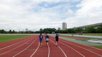 2017/06/14の舎人公園マラソン練習会1