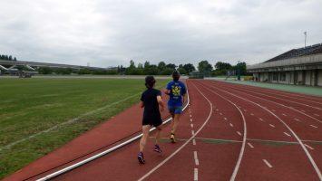2017/06/14の舎人公園マラソン練習会2