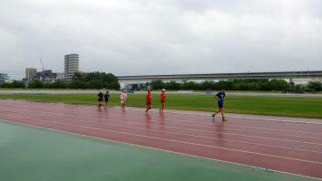 2017/06/21の舎人公園マラソン練習会1