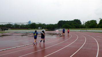 2017/06/21の舎人公園マラソン練習会2