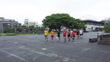 2017/07/30中級者向け赤坂御用地外周10-13kペース走1