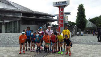 2017/07/30中級者向け赤坂御用地外周10-13kペース走4