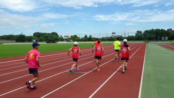 2017/07/05の舎人公園マラソン練習会1