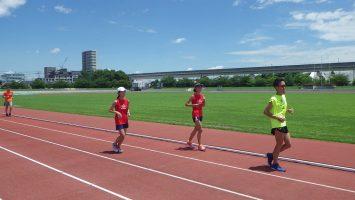 2017/07/05の舎人公園マラソン練習会2