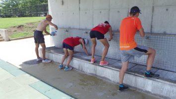 2017/07/05の舎人公園マラソン練習会3