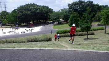 2017/07/12の颯走塾足立区舎人公園マラソン練習会2