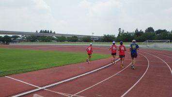2017/07/19の足立区舎人公園マラソン練習会1