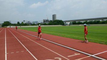 2017/07/19の足立区舎人公園マラソン練習会3
