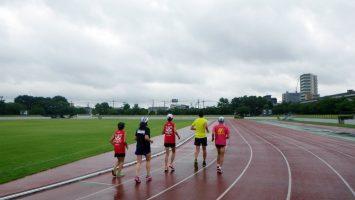 2017/07/26の足立区舎人公園マラソン練習会1