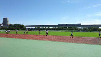 2017/08/09の舎人公園陸上競技場