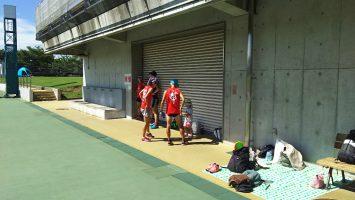 2017/08/09の足立区舎人公園マラソン練習会1