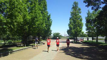 2017/08/09の足立区舎人公園マラソン練習会2
