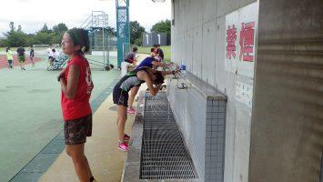 2017/08/02の足立区舎人公園マラソン練習会2