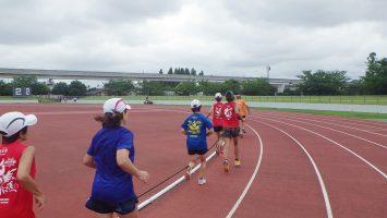 2017/08/02の足立区舎人公園マラソン練習会3