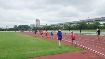 2017/08/02の足立区舎人公園マラソン練習会1