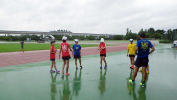 2017/08/16の足立区舎人公園マラソン練習会1