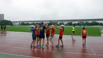 2017/08/16の足立区舎人公園マラソン練習会4
