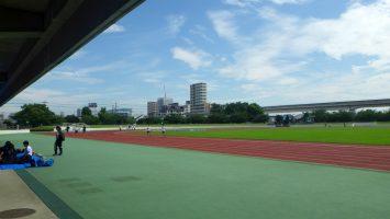 2017/08/23の舎人公園陸上競技場