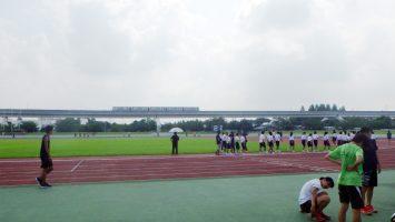 2017/08/30の舎人公園陸上競技場