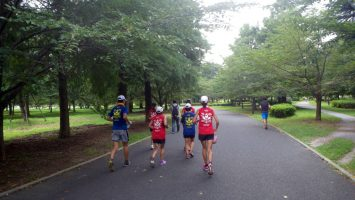 2017/08/30の足立区舎人公園マラソン練習会1