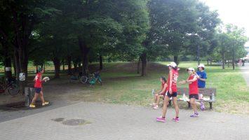 2017/08/30の足立区舎人公園マラソン練習会3